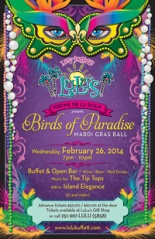 LuLu Mardi Gras Ball, Gulf Shores Alabama