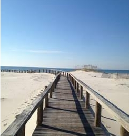 Gulf Shores Beach Boardwalk
